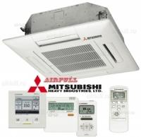 Внутренний блок кондиционера Mitsubishi Heavy FDTC-VF кассетного типа
