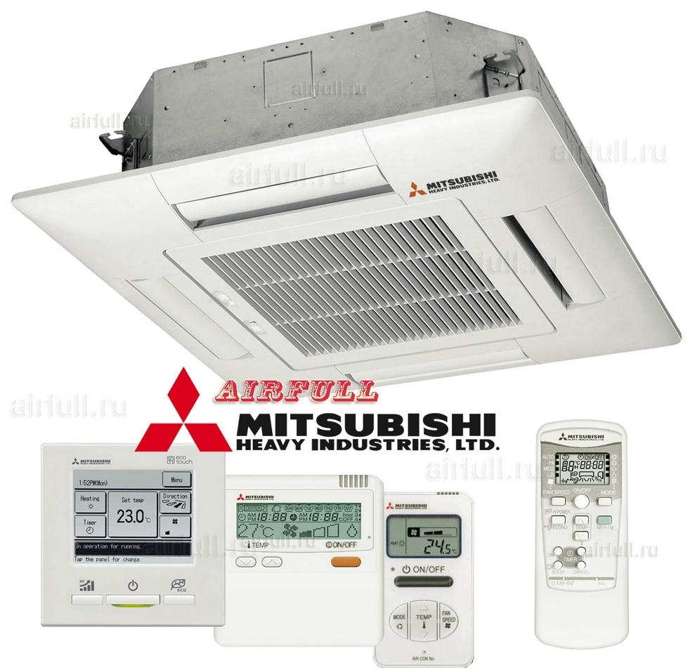 Кассетные кондиционеры mitsubishi установка блока ротации для кондиционеров