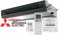 Внутренний блок канального кондиционера Mitsubishi Electric PEAD-M-J(L). Средненапорный.