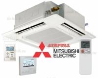 Внутренний блок кондиционера Mitsubishi Electric PLA-RP BA кассетного типа