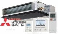 Внутренний блок кондиционера Mitsubishi Electric SEZ-KD VAQ канального типа