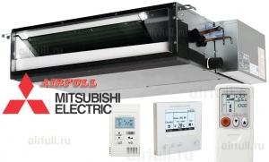 Низконапорные mitsubishi канальные серии y