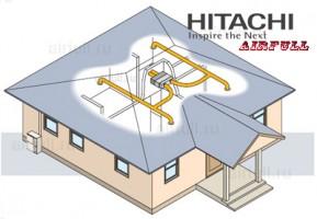 канальный кондиционер Hitachi