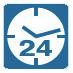 Работа по таймеру (24-Hour Timer – для класса Split и 72-Hour Timer – для классов Sky и VRV) позволяет автоматически согласовать работу кондиционера с ежедневным расписанием собственной жизни