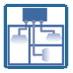 Мультизонирование - позволяет до 6 отдельных климатических зон с одним внутренним блоком