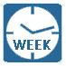Работа по недельному таймеру позволяет автоматически согласовать работу кондиционера с ежедневным расписанием собственной жизни
