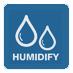 Программная осушка воздуха автоматически поддерживает относительную влажность воздуха в помещении в диапазоне от 35 до 60% без изменения температуры