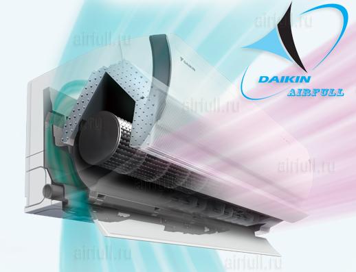 забор воздуха в кондиционере Daikin FTXZ N/RXZ N