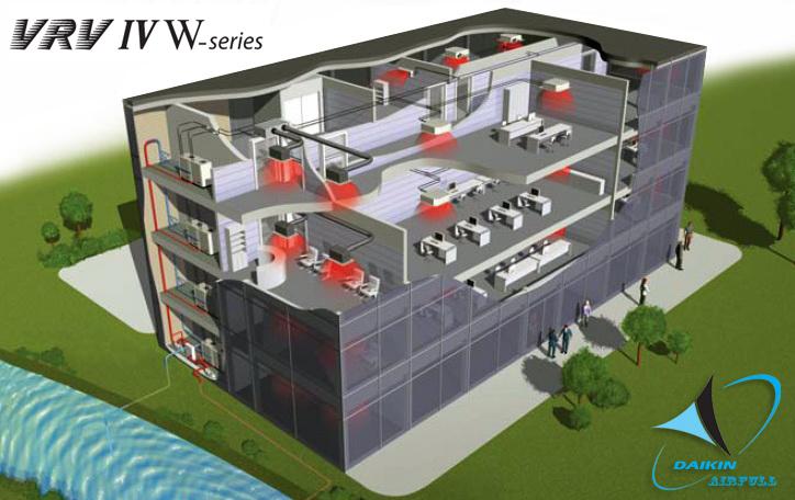 Геотермальная DAIKIN RWEYQ-T VRV4-W