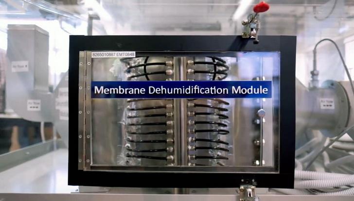 Мембранный кондиционер с водным теплоносителем
