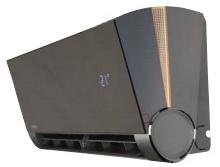 подсветка внутреннего блока кондиционера Kentatsu KSGX в режиме нагрева
