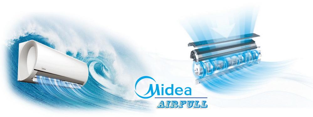 Оригинальный и притягательный дизайн кондиционера Midea Blanc, способствует быстрому достижению заданной температуры