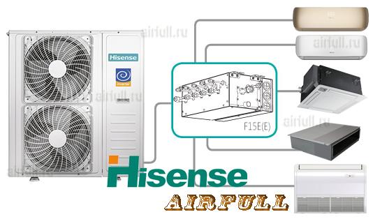 Схема подключения мульти-сплит-системы Hisense