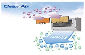 Система ионизации воздуха кондиционера Mitsubishi Heavy SRK/SRC-HG-S