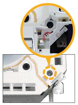 проверка дренажного поддона кассетного кондиционера Mitsubishi Heavy