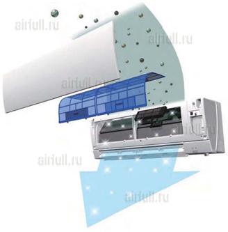 Система очистки кондиционера Mitsubishi Electric MSZ-FH/VE-MUZ-FH VE