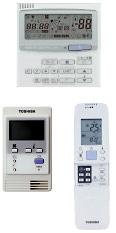 Широкий выбор пультов управления кондиционеров Toshiba