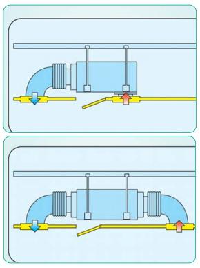Оциональный воздухозабор канального кондиционера