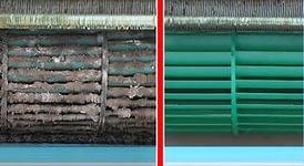 Чистка вентиляционного барабана кондиционера