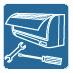 Авторизованный сервис сохраняет работоспособность кондиционера во время и после 3-летней заводской гарантии