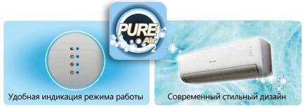 Опции кондиционера Hisense Classic A
