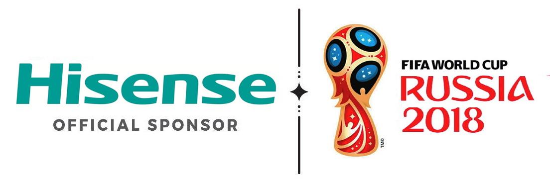 Hisense официальный спонсор Чемпионата мира FIFA 2018