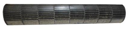 загрязненный вентиляционный барабан кондиционера